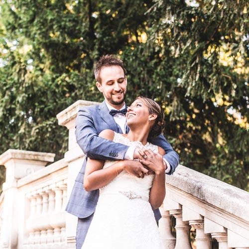 Reportage mariage de Cynthia & Noël au palais du Tau à Reims