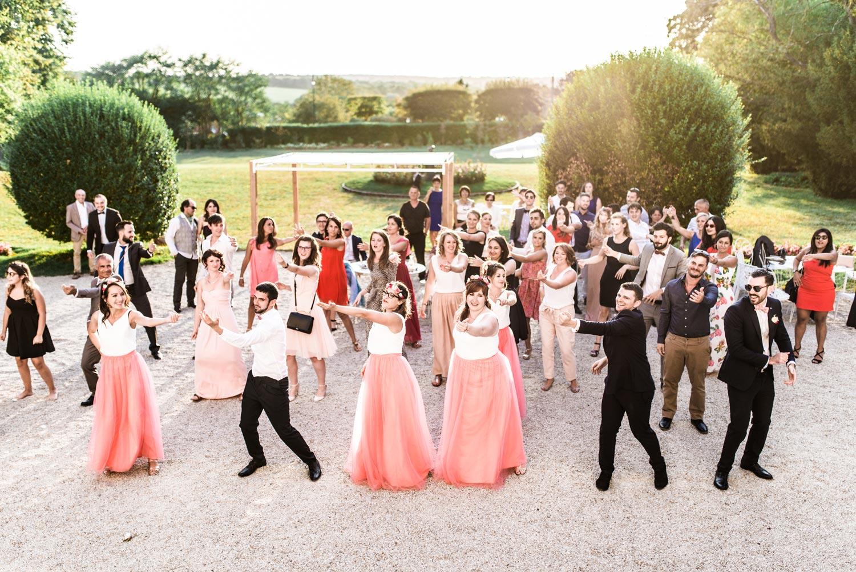 Flashmob au Château de Santeny