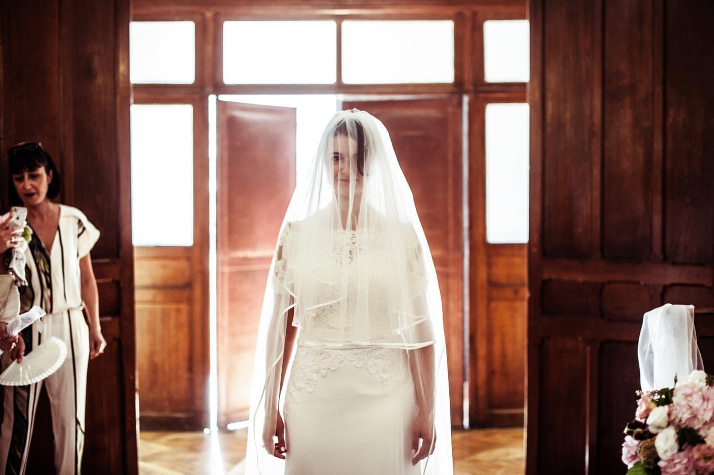 Arrivé de la mariée, cérémonie religieuse