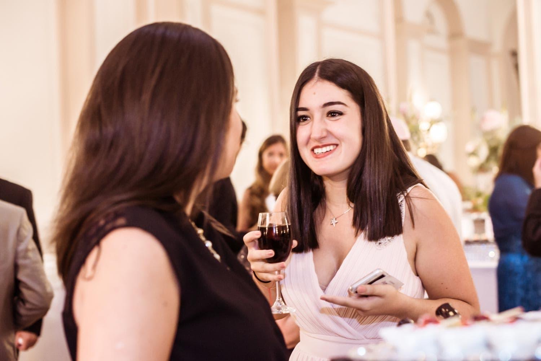 Portrait cocktail réception
