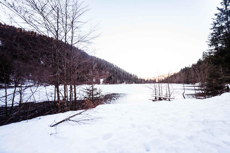 Lac des Corbeaux, La Bresse dans les Vosges
