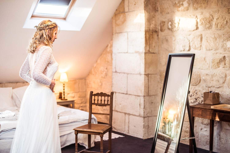 Robe de la mariée