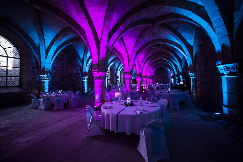 Mariage en hiver, lieu de réception, palais du tau à Reims