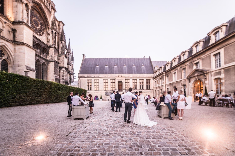Vin d'honneur au palais du Tau à Reims