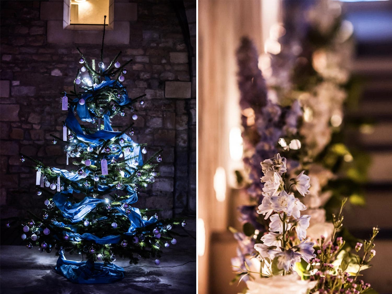 Sapin de Noël, mariage
