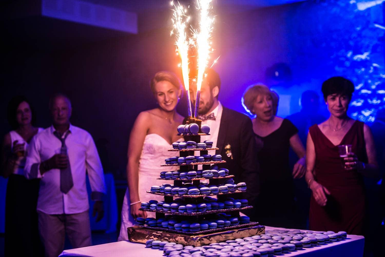 Arrivé du gâteau