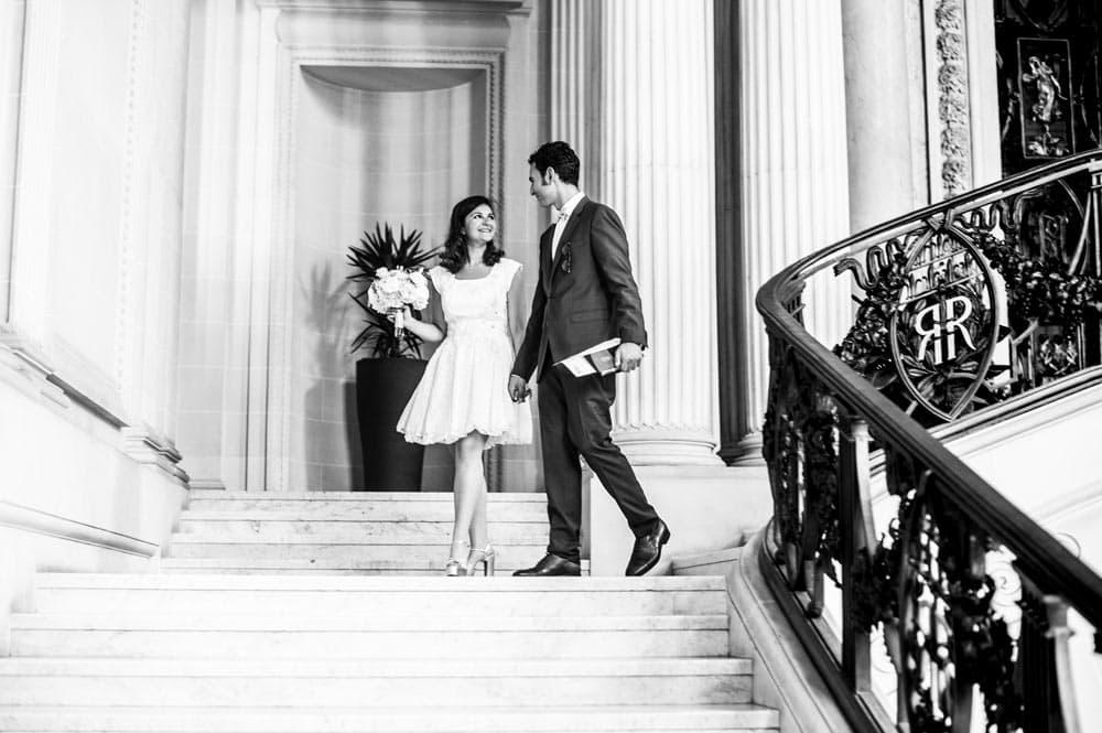Mariage de Estelle & Salomon, mairie de Reims