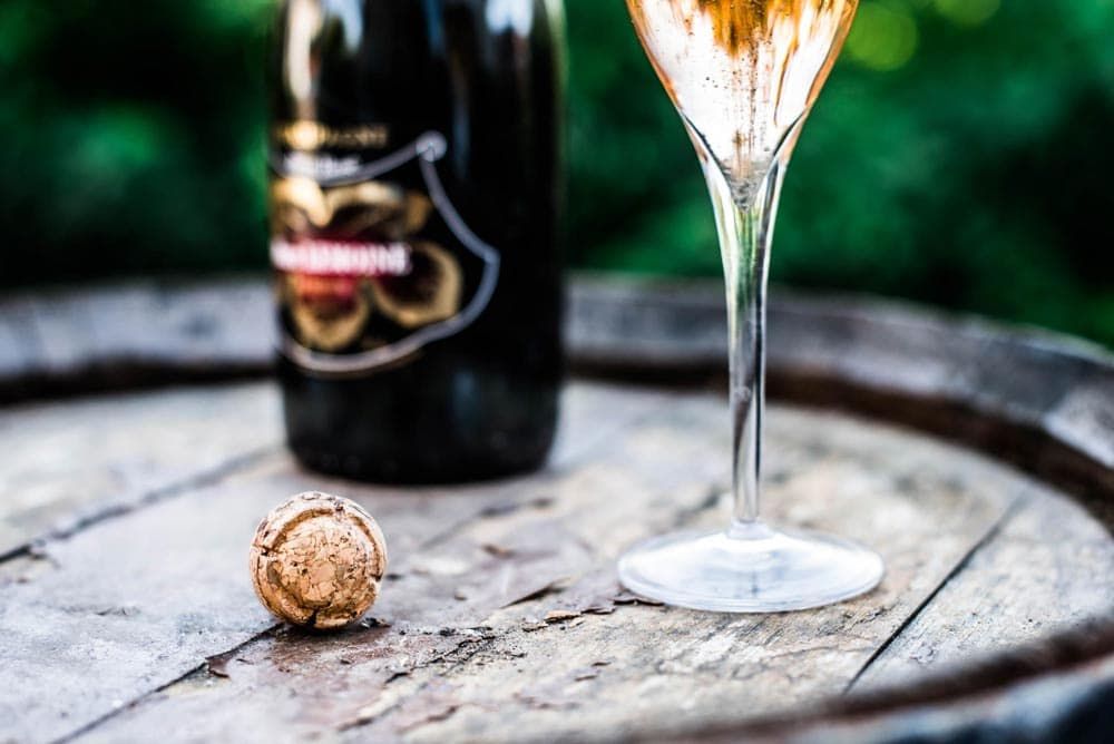 Shooting packshot Champagne Marc Lemoine