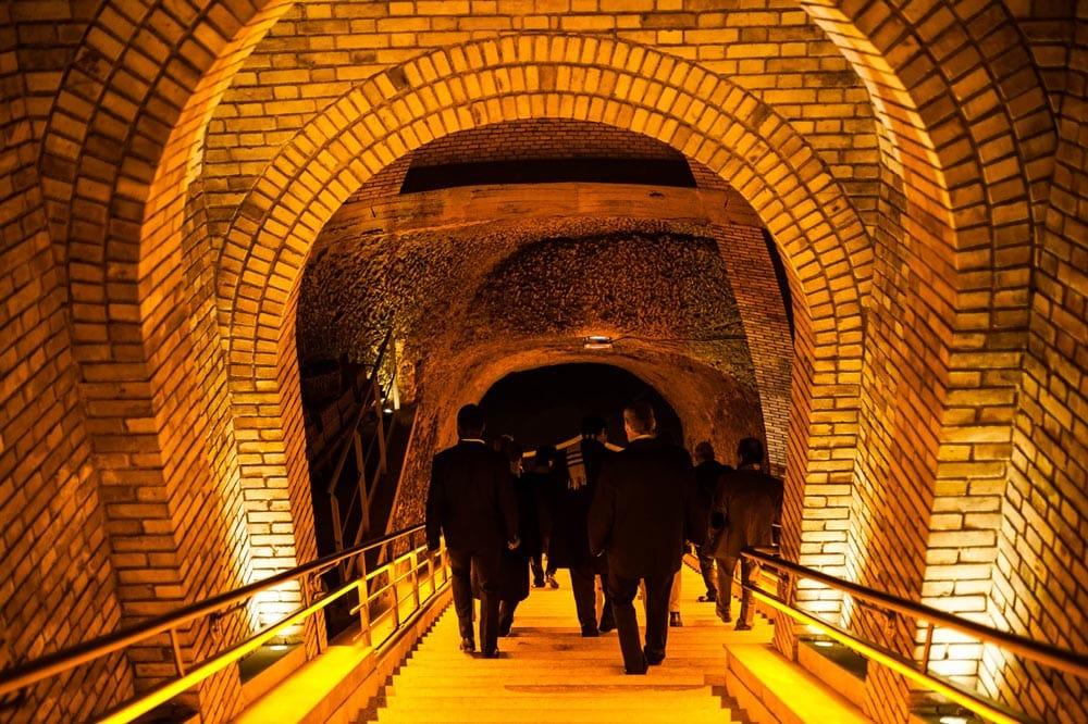 Descente cave Veuve Clicquot