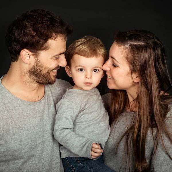 Photographe de portrait et famille