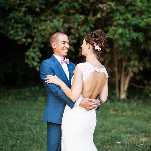 Reportage mariage de Claire & Chris au chateau de Santeny