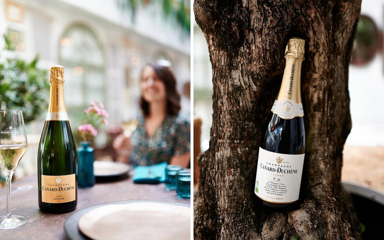 Champagne Canard-Duchêne cuvée Léonie Alba à Reims