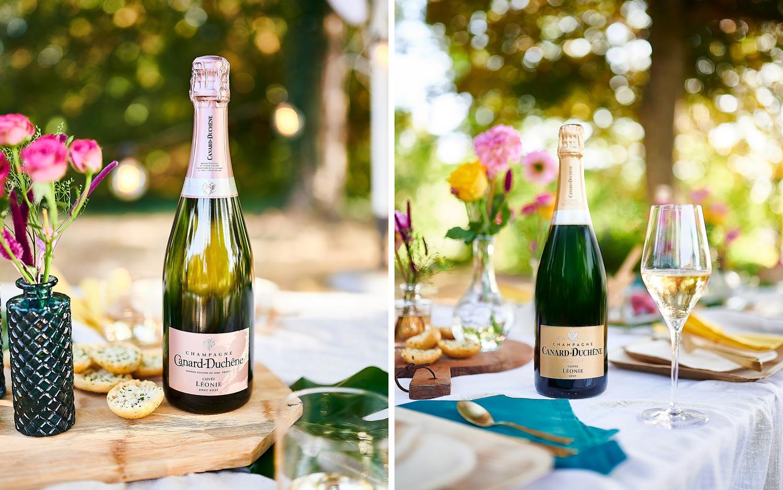 Champagne Canard-Duchêne shooting cuvée Léonie