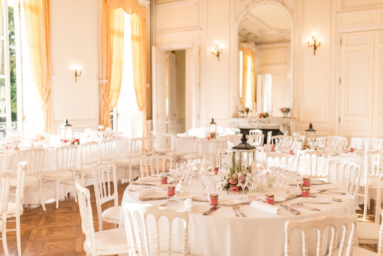 Salle de reception au Château de Santeny