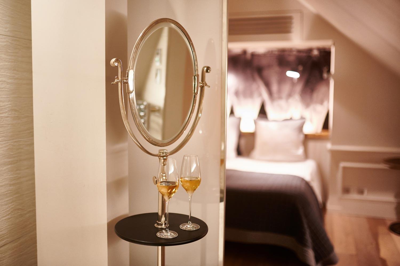 Photo de détail champagne