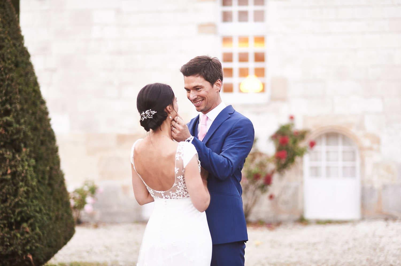 Séance de couple au château de Vitry-la-Ville