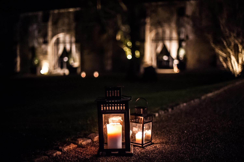Photo du domaine des pommerieux à Busancy, nuit