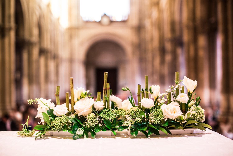 Cérémonie religieuse à l'église Saint-André de Reims