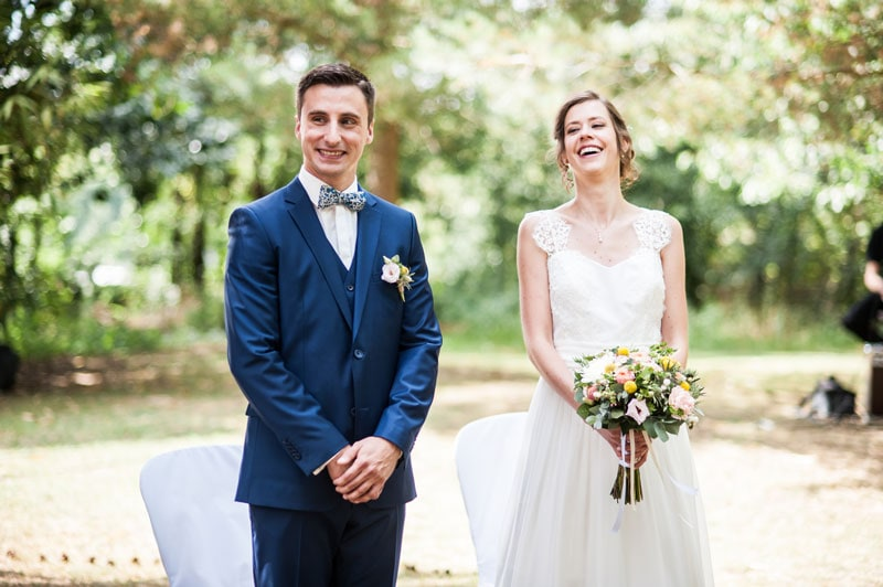 Mariage de Constance & Bastien, cérémonie laïque